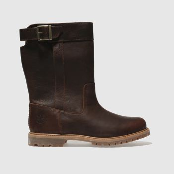 Timberland Brown Nellie Pull On Womens Boots