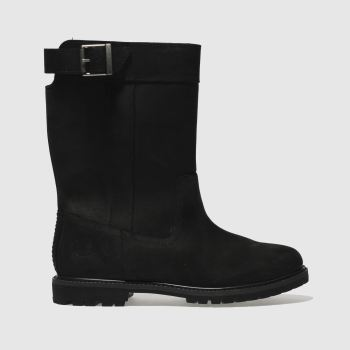 Timberland Black Nellie Pull On Womens Boots