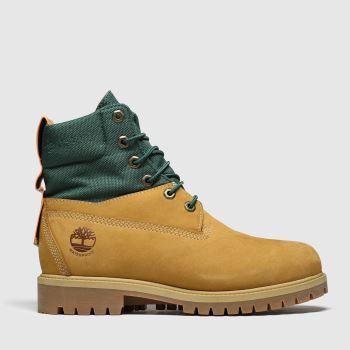 "Timberland Tan Rebotl 6"" Premium Boot Boots"