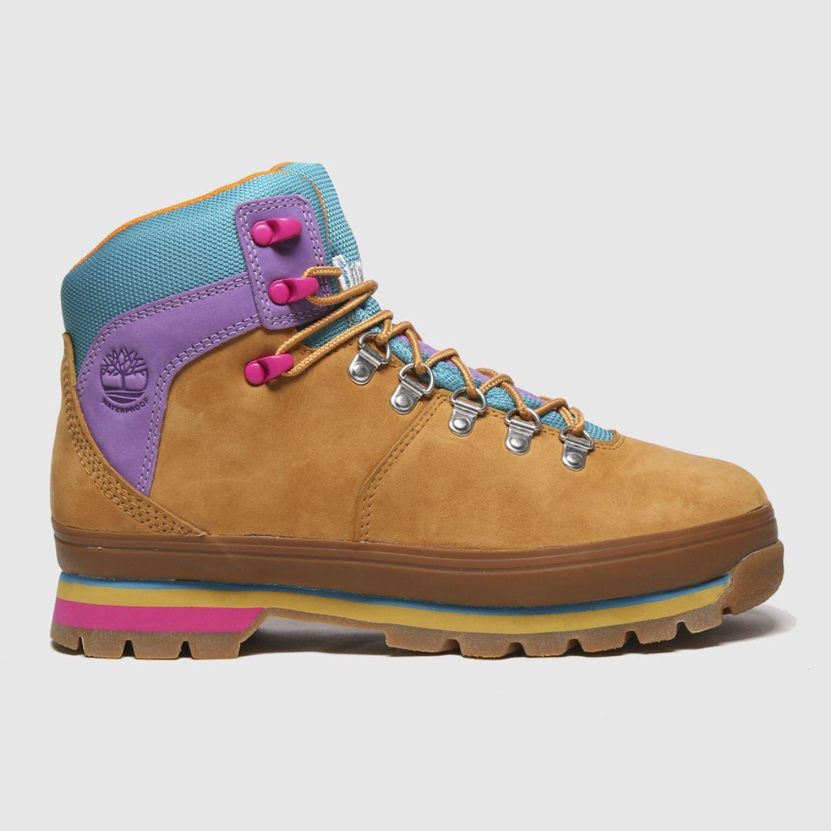 Timberland Tan Euro Hiker Boots