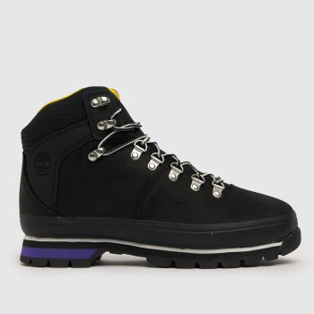 Timberland Black Timb Euro Hiker Wp Womens Boots