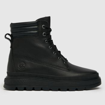 Timberland Black Ray City 6 In Wp Boot Womens Boots
