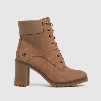 Timberland Tan Allington Womens Boots