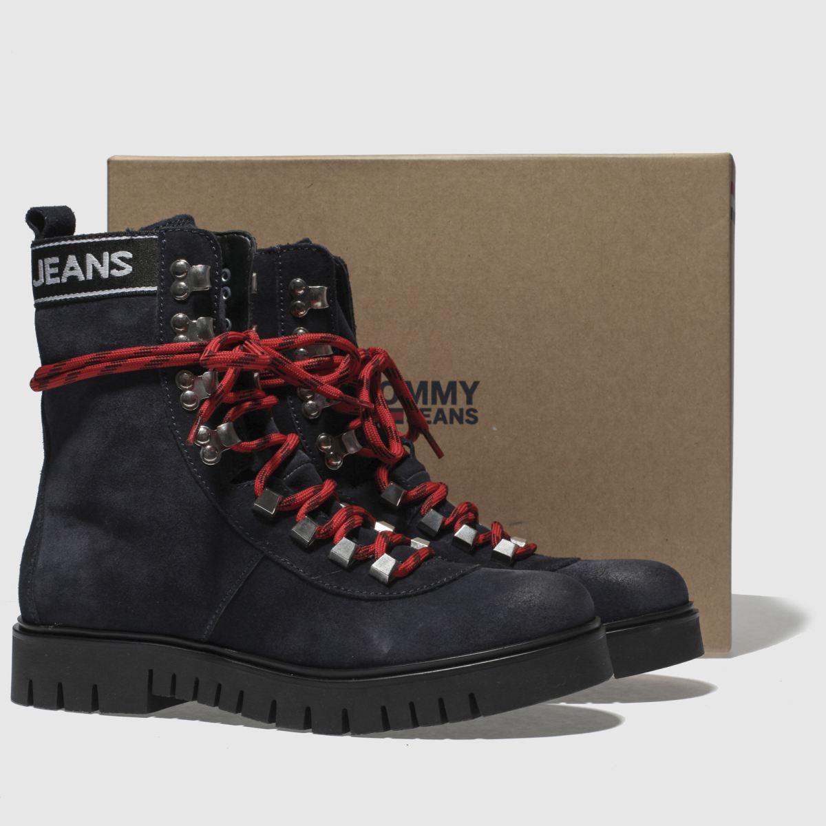 Damen Marineblau tommy hilfiger Tj Hiking Qualität Boots | schuh Gute Qualität Hiking beliebte Schuhe e82686