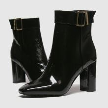 Tommy Hilfiger Patent Sqaure Toe Boot 1