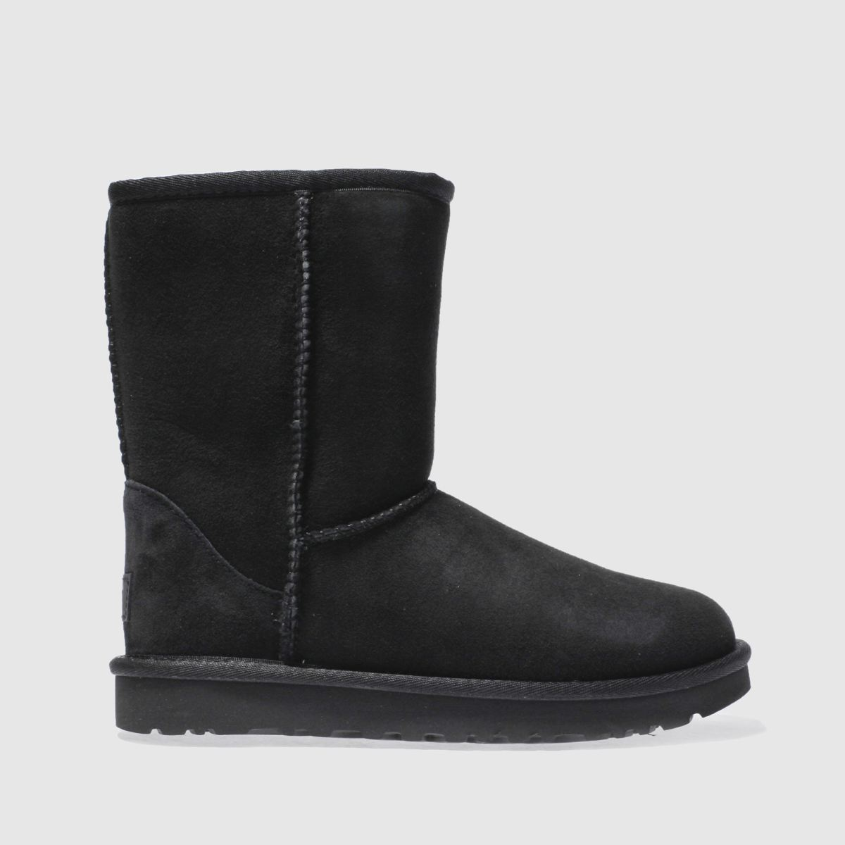 Womens Black Ugg Classic Short Ii Boots Schuh