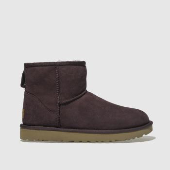 Ugg Purple Classic Mini Ii Womens Boots