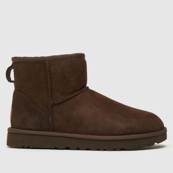Ugg Brown Classic Mini Ii Womens Boots