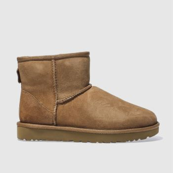 UGG Tan Classic Mini Ii Womens Boots