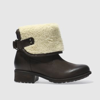 Ugg Brown Aldon Womens Boots