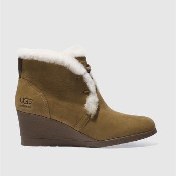 45342259d7e womens tan ugg jeovana boots | schuh
