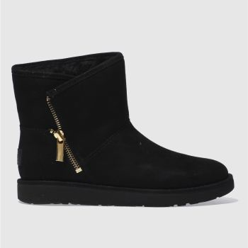 Ugg Black Kip Womens Boots
