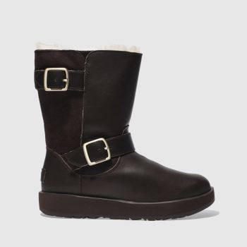 Ugg Brown Breida Waterproof Womens Boots