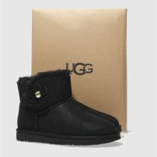 Ugg mini bailey button poppy 1