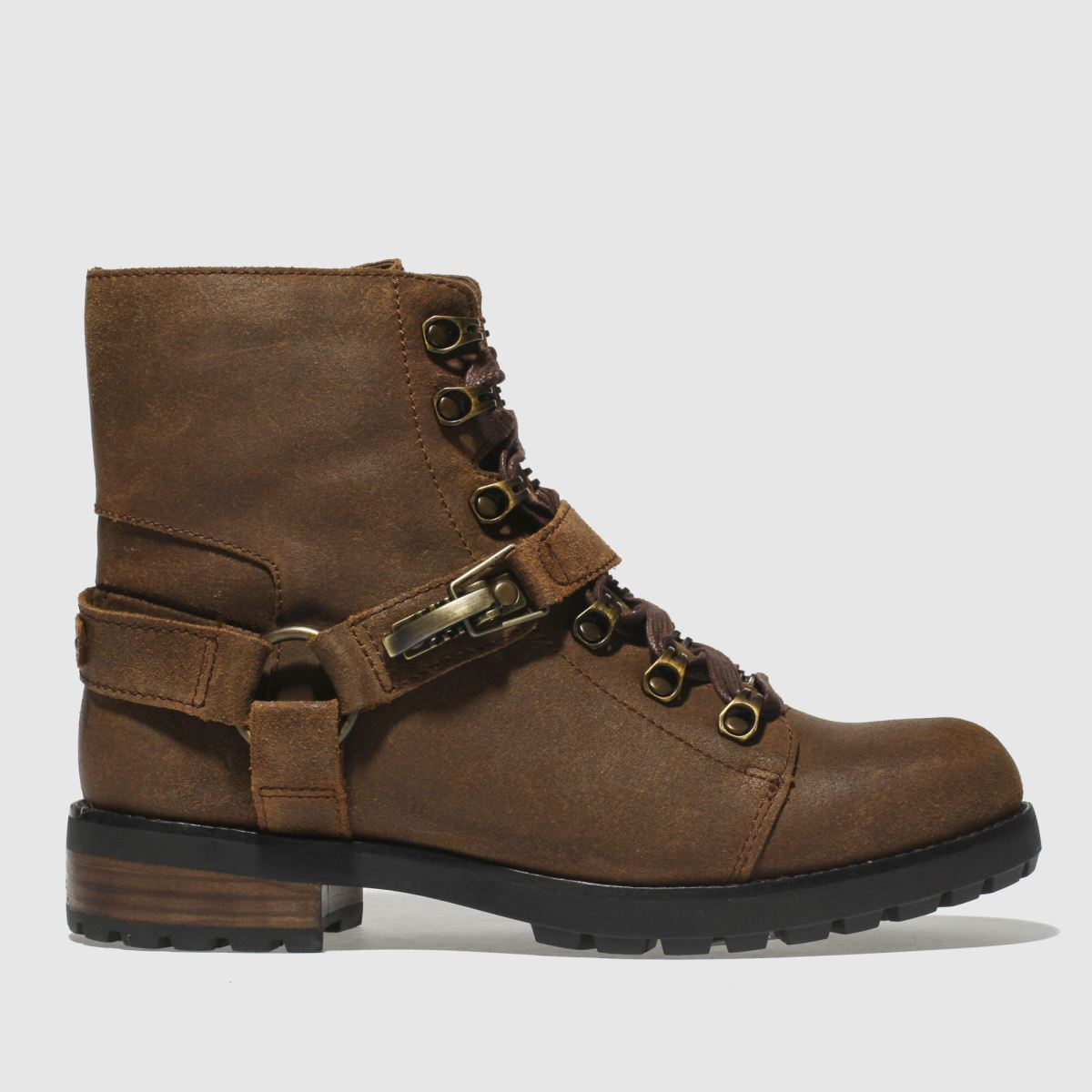 Ugg Tan Fritzi Lace-up Boots