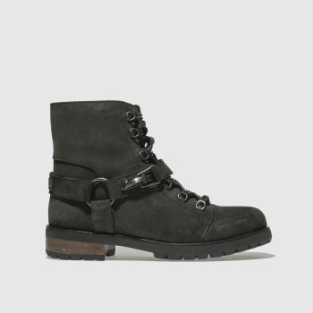 Ugg Black Fritzi Lace-Up Womens Boots