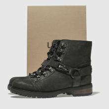 f7a6152d2ff ugg black fritzi lace-up boots