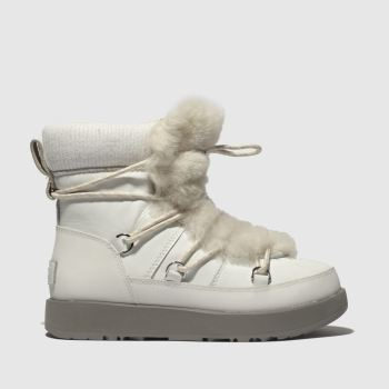 Ugg White Highland Waterproof Womens Boots