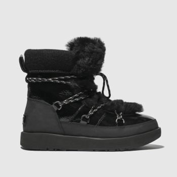 Ugg Black Highland Waterproof Womens Boots