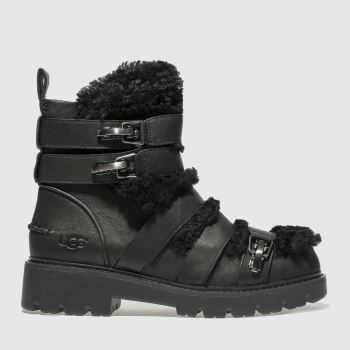 Ugg Black Brix Womens Boots
