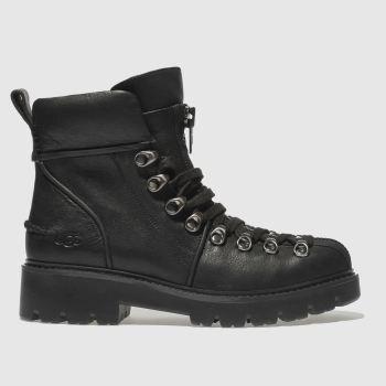 UGG black hexa boots