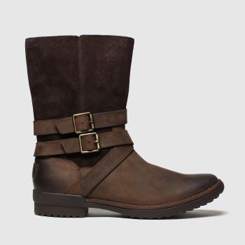 UGG Brown Lorna Womens Boots