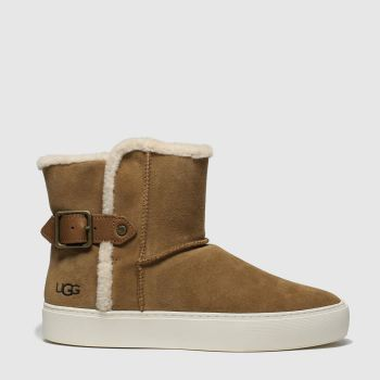 Ugg Tan Akia Womens Boots