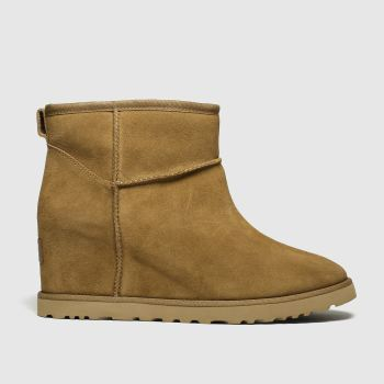 Ugg Tan Classic Femme Mini c2namevalue::Womens Boots