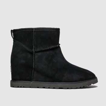 Ugg Black Classic Femme Mini c2namevalue::Womens Boots