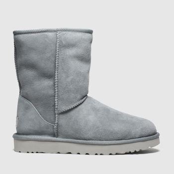 UGG Light Grey Classic Short Ii Womens Boots