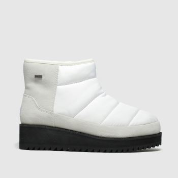 Ugg White Ridge Mini Womens Boots