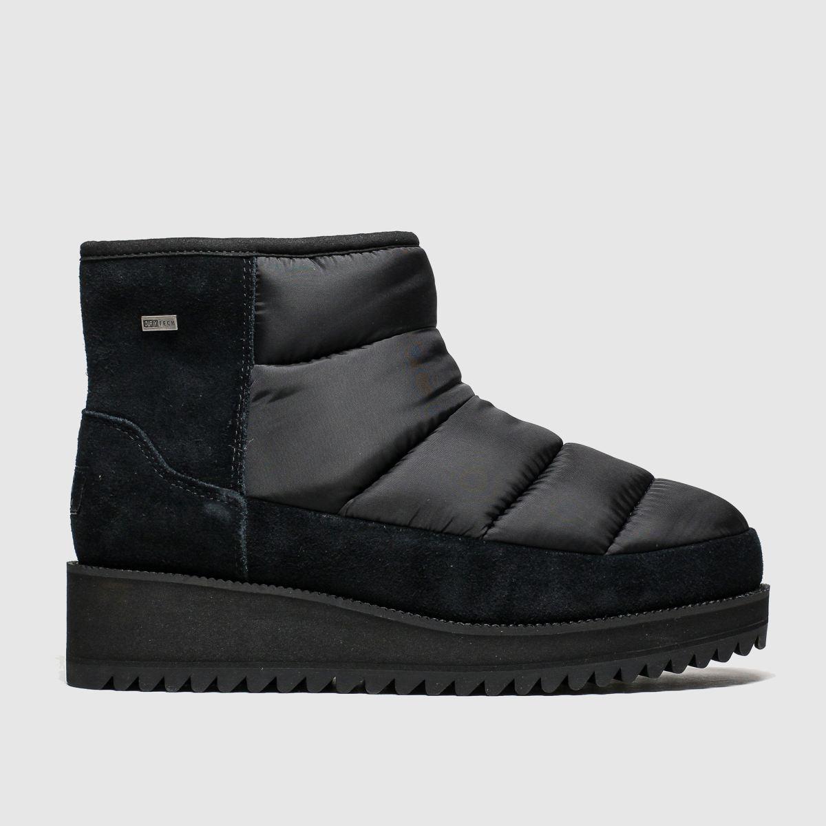 Ugg Black Ridge Mini Boots