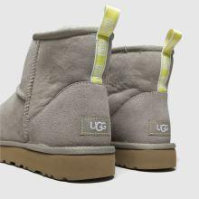 3c8ccb67766 ugg grey classic mini graphic logo boots