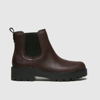 UGG Burgundy Markstrum Womens Boots