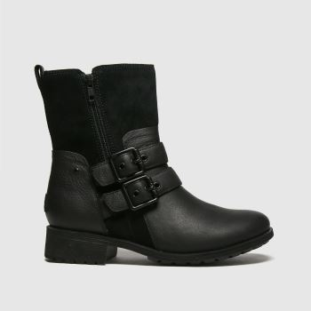 UGG Black Wilde Womens Boots