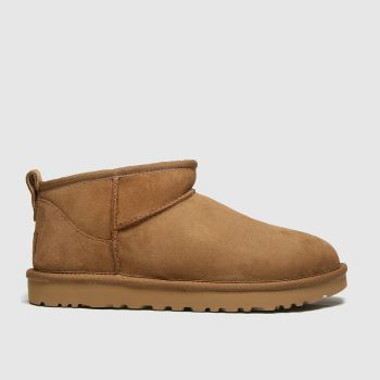 UGG Tan Classic Ultra Mini Womens Boots