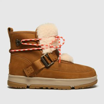 UGG Tan Classic Weather Hiker Womens Boots