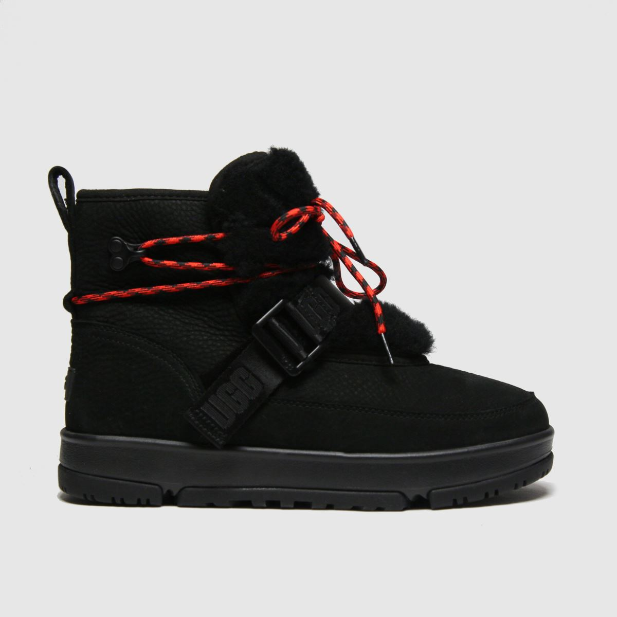 UGG Black Classic Weather Hiker Boots