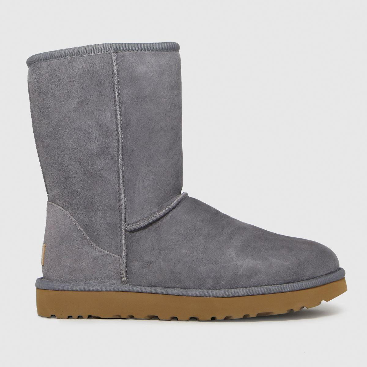 UGG Grey Classic Short Ii Boots