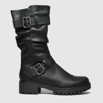 Schuh Black Tempest Womens Boots