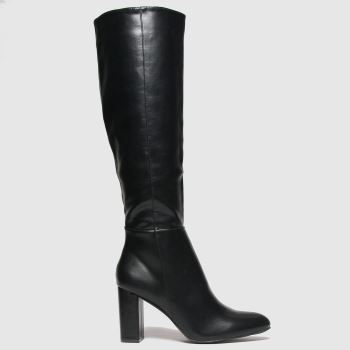 schuh Black Dakota Pull On Womens Boots