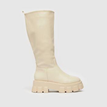 schuh Natural Ec Deana Chunky Knee Womens Boots