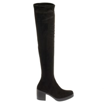 SCHUH BLACK NEXT CHAPTER BOOTS