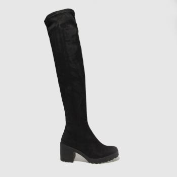 Schuh Black On The Radar Womens Boots