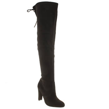 schuh black misty boots