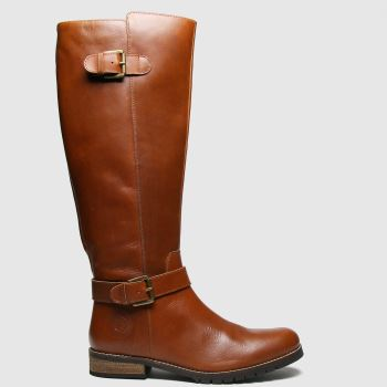 Red Or Dead Tan Radley Leather Hi Leg Womens Boots