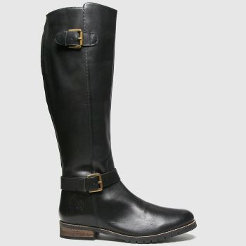 Red Or Dead Black Rod Radley Leather Hi Leg Womens Boots