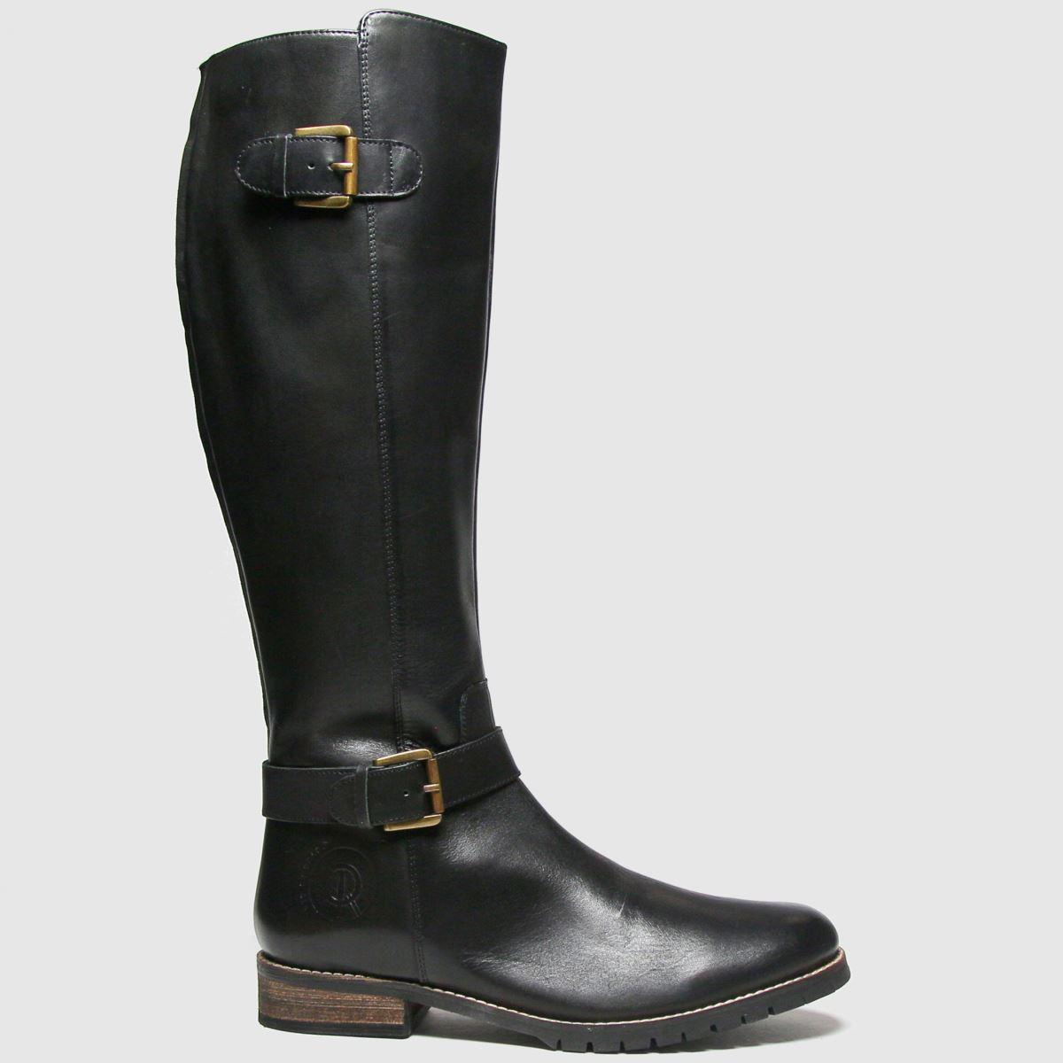 Red Or Dead Red Or Dead Black Rod Radley Leather Hi Leg Boots