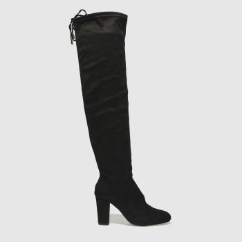 Schuh Black Dolly Womens Boots