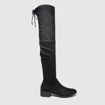 Schuh Black Faster Womens Boots